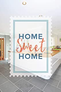 Home Sweet Home: Track Your Decluttering Progress with This Planner/Journal Paperback | Tips and Guides | 160 Pages | Size 6