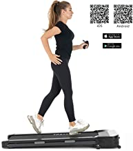 Murtisol Under Desk Treadmill Smart Walking Running Cardio Workout Machine with Remote Control and Bluetooth for Home & Office,Somatosensory Speed Control, Slim Design with Transport Wheels