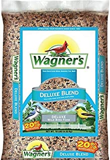 Wagner`s 13008 Deluxe Blend Wild Bird Food, 10-Pound Bag