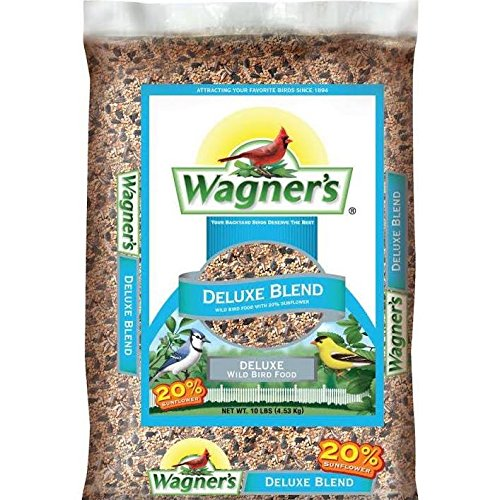 Wagner's 13008 Deluxe Blend Wild Bird Food, 10-Pound Bag