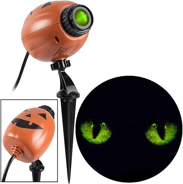 Gemmy Industries Hk Blinking Cat Eyes Projection Lightshow