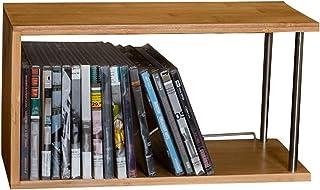 Nai-storage Caja de Acabado de Disco, PS4 CD DVD Soporte de Registro de Vinilo de Madera Dormitorio de Estudiantes Caja de...