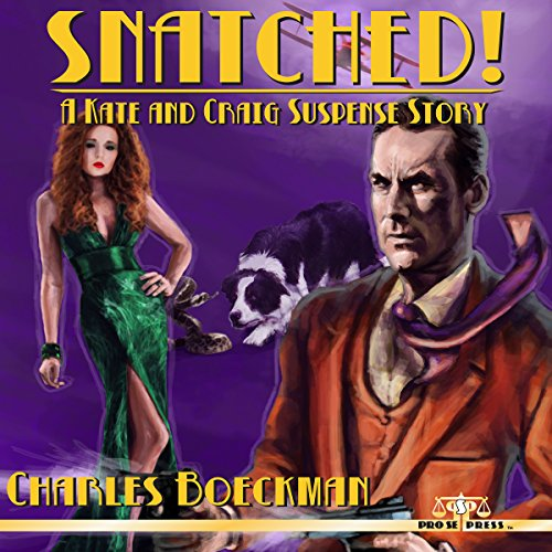 Snatched! audiobook cover art