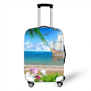 18-21 MukMok Custodia per bagagli Custodia per valigie Protezione da viaggio Fantastico motivo con paesaggi marini-acqua di mare s