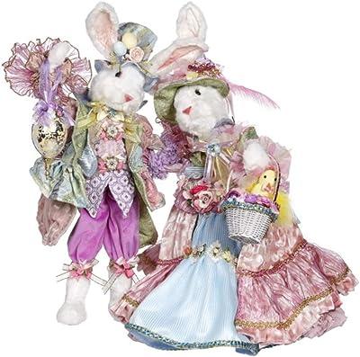Mark Roberts 51-05242 Mr & Mrs Easter Bunny Medium