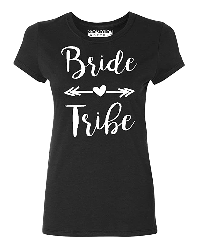 Promotion & Beyond P&B Wedding Bridal Party Gear Bride Tribe Women's T-Shirt