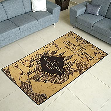 Robe Factory Harry Potter Marauders Map Area Rug