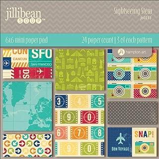 jillibean scrapbook paper