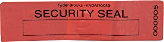 """TydenBrooks Security Products KNDM Security Labels, 3 3/8"""" X 1"""", Blue, 1000 Count"""