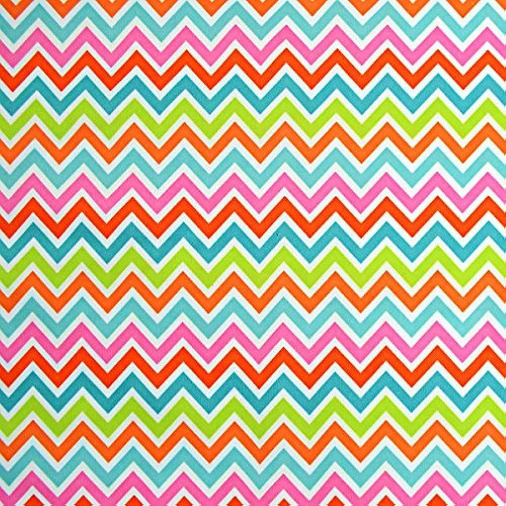 Babyville Boutique 35280 PUL Fabric, Chevron, 64-Inch x 6-Yard Bolt
