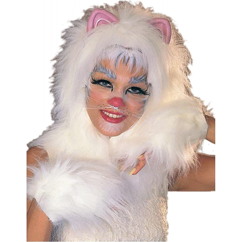 Rubie's Costume Co Cats Accessory Pak Costume, White, White