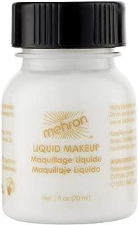 Mehron Makeup Liquid Face and Body Paint (1 oz) (WHITE)