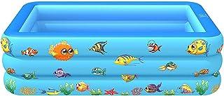 Inflatable Pool for Kids and Adults - Kids Swim Center Swimming Toys - Kiddie Pool Inflatable Swimming Pool for Kids Pools...