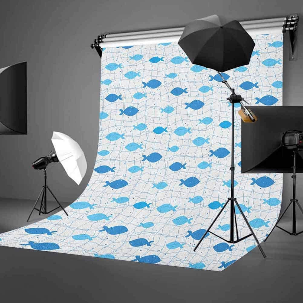 8x12 FT Moose Vinyl Photography Background Backdrops,Hand Drawn Style Funny Cartoon Characters Elks with Rainbow Antlers Friendly Mammals Background Newborn Baby Portrait Photo Studio Photobooth Props