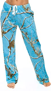 Realtree Ladies Sleep Pants Ap Blue Fish