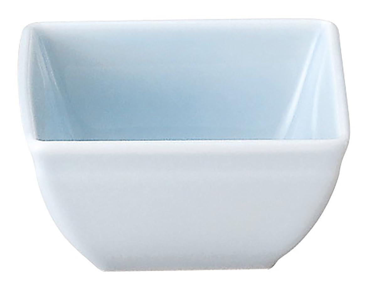 リーズヒゲ見つける光洋陶器 小鉢 水色 7cm 2.3 角小鉢 青流柄 56981066