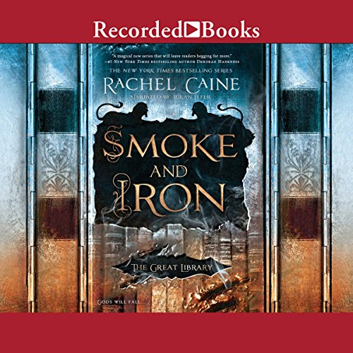 Smoke and Iron audiobook cover art