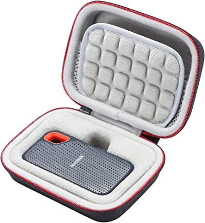 L3 Tech Custodia Rigida per SSD SanDisk 250GB / 500GB / 1TB / 2TB Extreme Portable SDSSDE60, Custodia di Trasporto - Grigio - Trova i prezzi più bassi