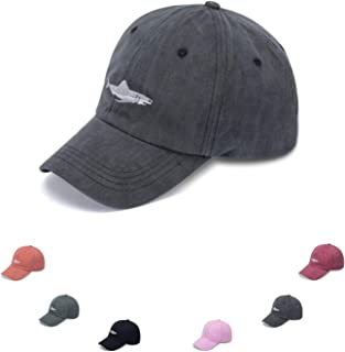 Washed Plain Baseball Cap for Men and Women, Unisex Adjustable Baseball Hat with Embroidery, Classic Cotton Dad Hat
