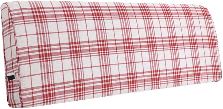 JUEJIDP 7 couleurs au choix, 9 tailles au choix, coussin moelleux pour coussin de lit sans dossier de tête de lit appui lombaire rembourré amovible et lavable Coussin De Canapé