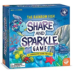 the rainbow fish board game | kids books and reading