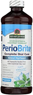 Nature's Answer PerioBrite Alcohol-Free Mouthwash Winter Mint 16 fl oz Vitamin Supplements
