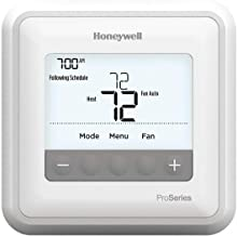 Honeywell TH4110U2005/U T4 Pro Program Mable Thermostat, White