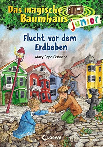 Das magische Baumhaus junior 22 - Flucht vor dem Erdbeben: Kinderbuch zum Vorlesen und ersten Selberlesen - Mit farbigen Illustrationen - Für Mädchen und Jungen ab 6 Jahre