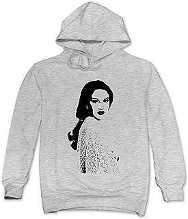 Mens Shailene Silhouette Hoodie 100% Cotton