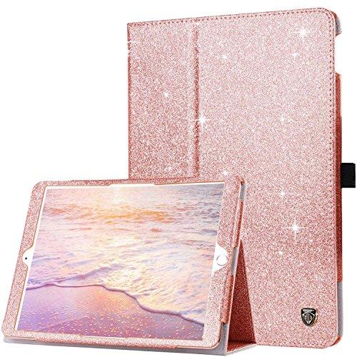 BENTOBEN New iPad 10.2 2020 2019 Case, iPad Pro 10.5 Case Leather, iPad Air 3 10.5 2019 Case, Sparkly Glitter Leather Case for New iPad 8th 7th Gen/iPad Pro 10.5 / iPad Air 3 10.5 2019 - Rose Gold