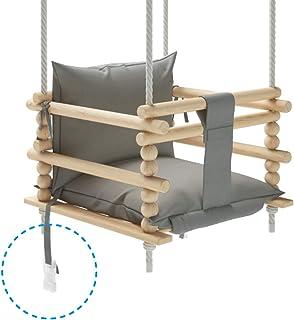 MAMOI - Columpio para niños, Columpio 3 en 1 + cinturón de
