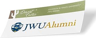 Johnson & Wales University JWU Wildcats NCAA Vinyl Decal Laptop Water Bottle Car Scrapbook (Sticker - 00014A)