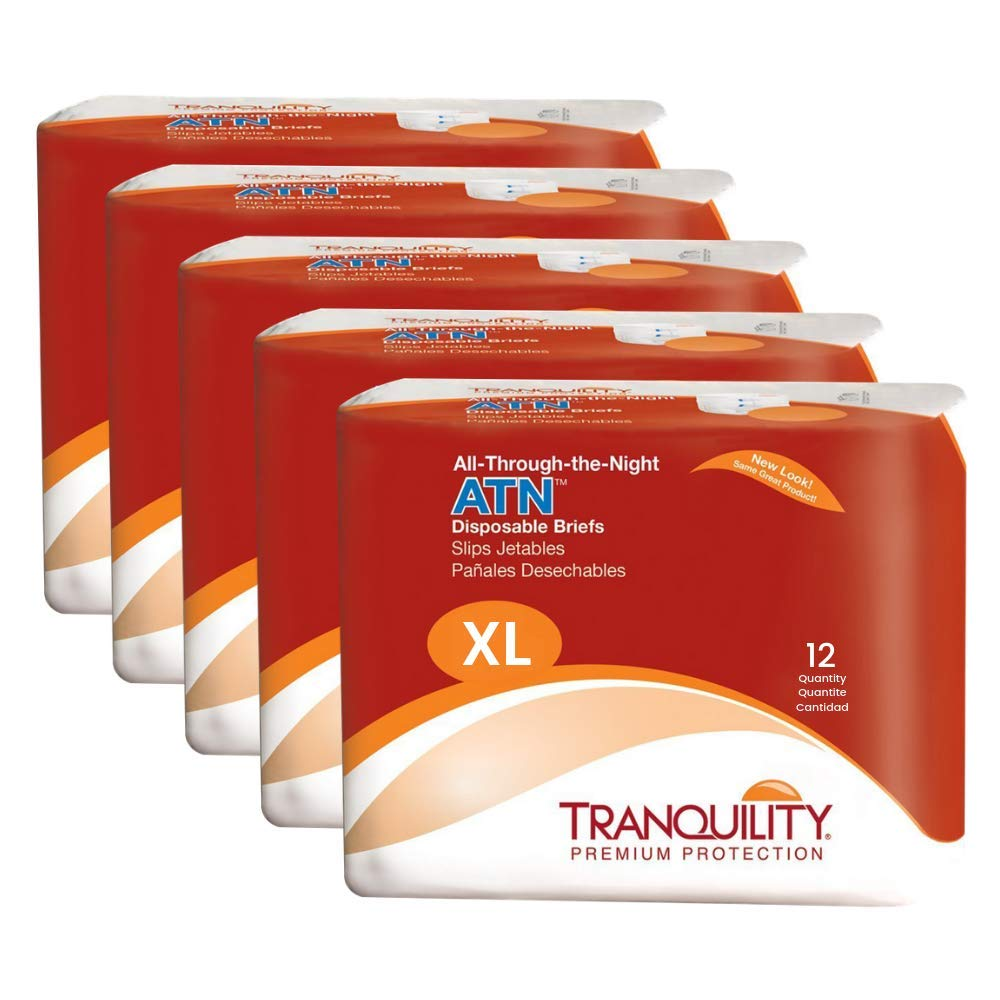 Tranquility ATN Adult Disposable SEAL limited product Incontinence Briefs Max 84% OFF Refast with