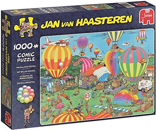 Jumbo - Puzzle The Balloon Festival, 1000 Piezas (619052)