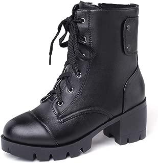 BalaMasa Womens ABS14016 Pu Boots