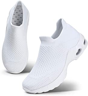 STQ Women Walking Shoes Slip On Sneakers Casual Trainer Size: 8.5 US