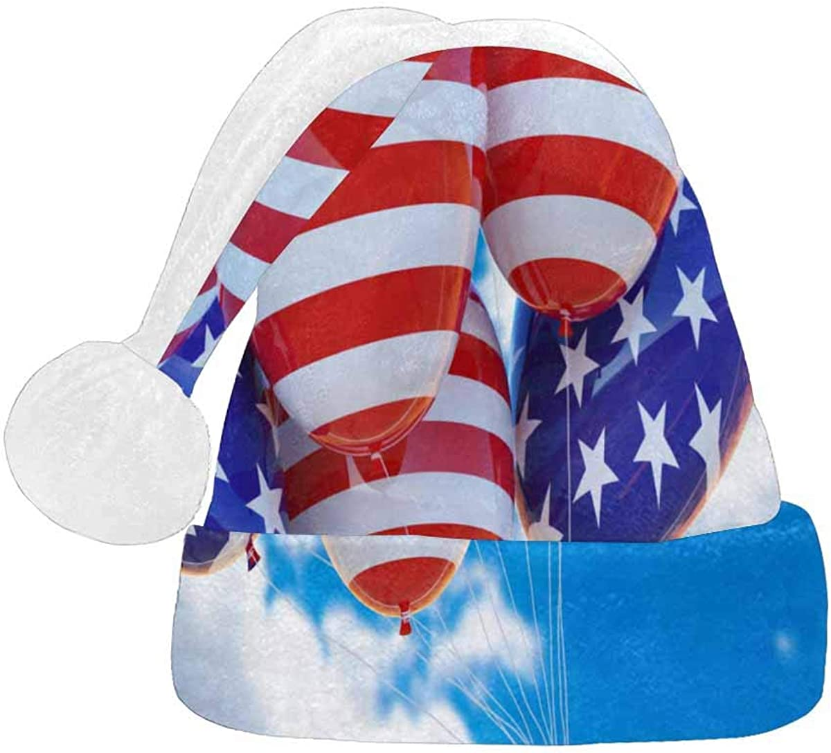 InterestPrint Christmas Santa Year-end gift Max 63% OFF Hat Design Adults Fashion for