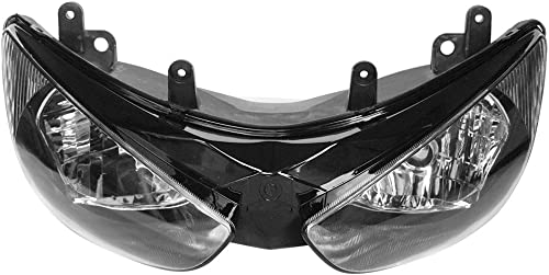 wholesale Mallofusa Motorcycle Front Headlight Headlamp sale Assembly Compatible wholesale for Kawasaki Ninja ZX6R ZX636 2005-2006 Clear Lens online