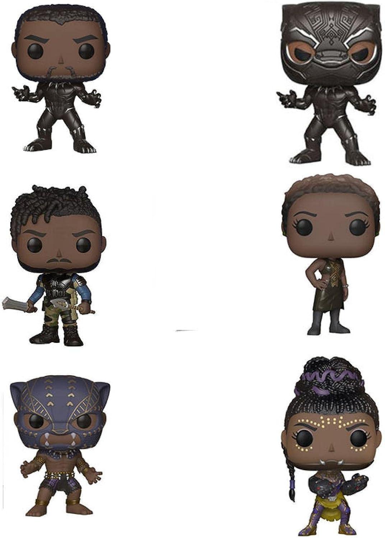 6Pcs Pop Vinyl Black Panther #273 Limited time sale #278 #276 Fi #274 Action [Alternative dealer] Movie