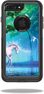 MightySkins Skin Compatible with OtterBox Commuter iPhone 8 Plus - Unicorn Fantasy | Protective, Durable, and Unique Vinyl wrap Cover | Easy to Apply, Remove, and Change Styles | Made in The USA