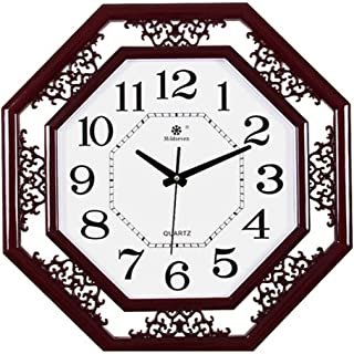 XTSP Wall Clock - Living Room Decoration Clock - Quartz Clock - Mute - Irregular Wall Clock (Color : 4)