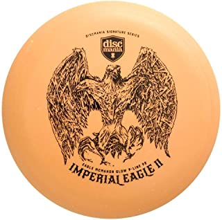Discmania Limited Edition Signature Eagle McMahon Imperial Eagle II Color Glow P-Line P2 Pro Putter Golf Disc [Colors May Vary]