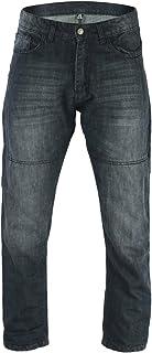 Preisvergleich für Bikers Gear Motorrad Schwarz Washed lose Komfort Fit Faded Jeans 1621–1Kevlar, Faded Black, Größe 96,5cm 2x l/L preisvergleich