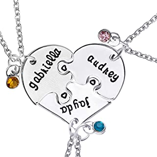 Best 4 piece bff necklace Reviews