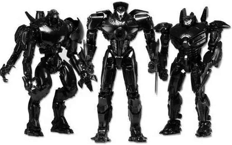 ZEQUAN Bambola di Bambola di plastica del Giocattolo Nero del Robot di Guerra della Guardia del vagabondo della Scultura del Giocattolo