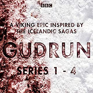 Gudrun: Series 1-4     A Viking Epic Inspired by the Icelandic Sagas              By:                                                                                                                                 Lucy Catherine                               Narrated by:                                                                                                                                 full cast,                                                                                        Kate Phillips                      Length: 5 hrs and 42 mins     5 ratings     Overall 4.2