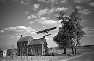 Crop Dusting 1938 Na Crop-Dusting Airplane Over Seabrook Farms Between Bridgetown And Vineland New Jersey Photograph By Ed...