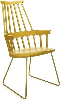 Comback Chair - Silla con patín amarillo/patín amarillo