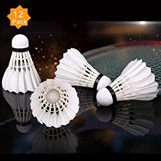 badminton feather shuttles