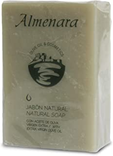 Almenara - Jabón Hidratante de Aceite de Oliva en Pastilla de 100 GRS